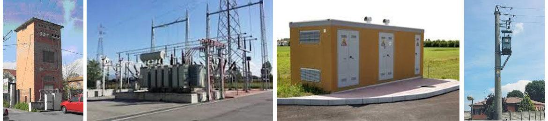 stazione alta e bassa tensione per fotovoltaico